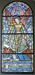 Projekt witraża św. Michała Archanioła